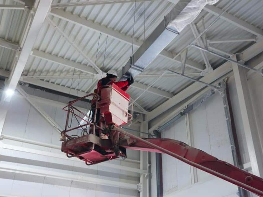На Удокане завершено строительство корпуса материально-технического снабжения