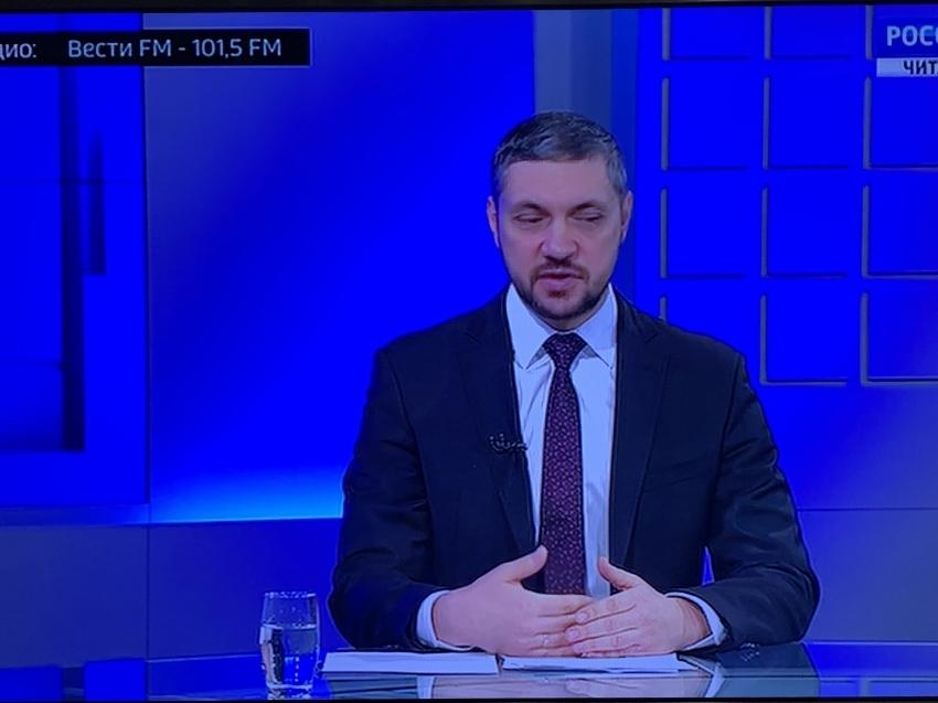 Интервью Губернатора Забайкальского края Александра Осипова для ТК «Россия 24»