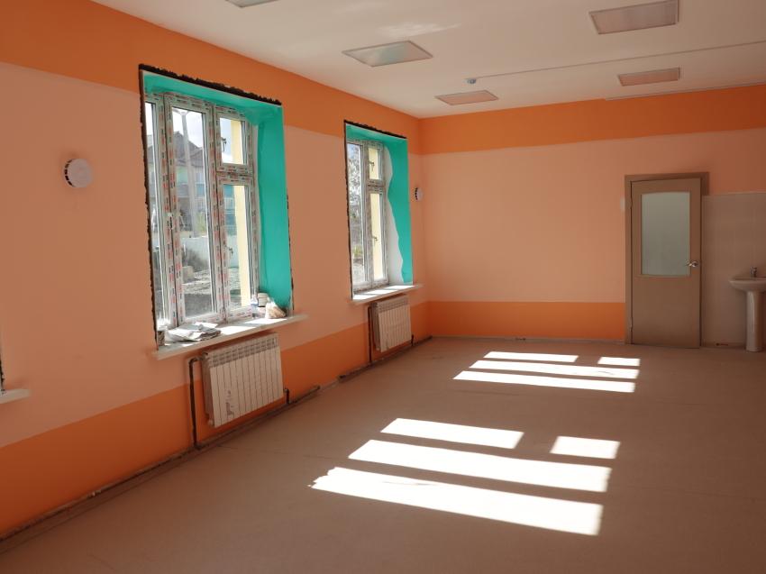 В забайкальском поселке Кадала готовится к открытию новый детский сад