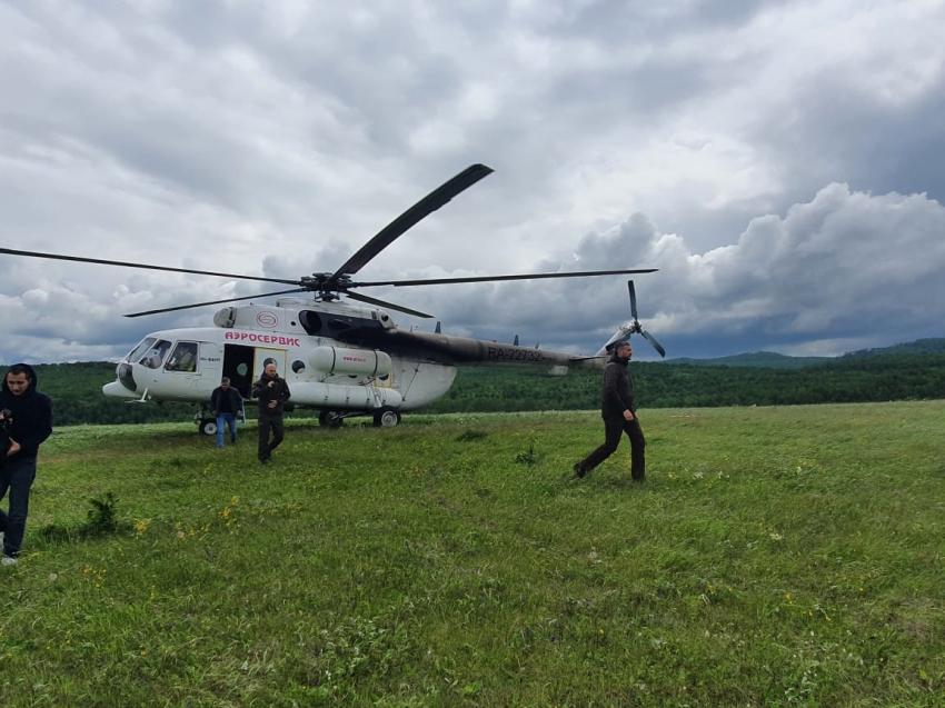 Губернатор Забайкальского края работает в пострадавших от паводков районах