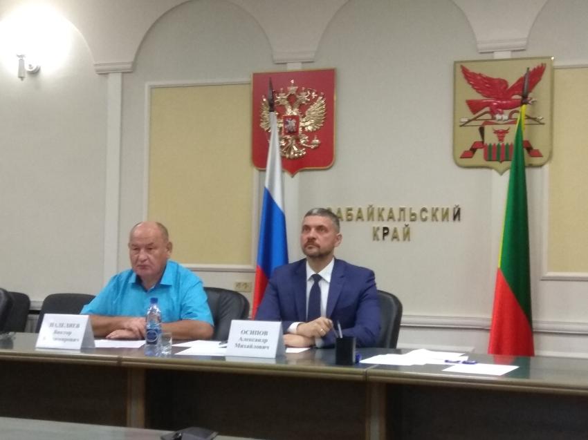 Александр Осипов и Виктор Наделяев доложили президенту о принимаемых мерах по ликвидации ЧС в Забайкалье