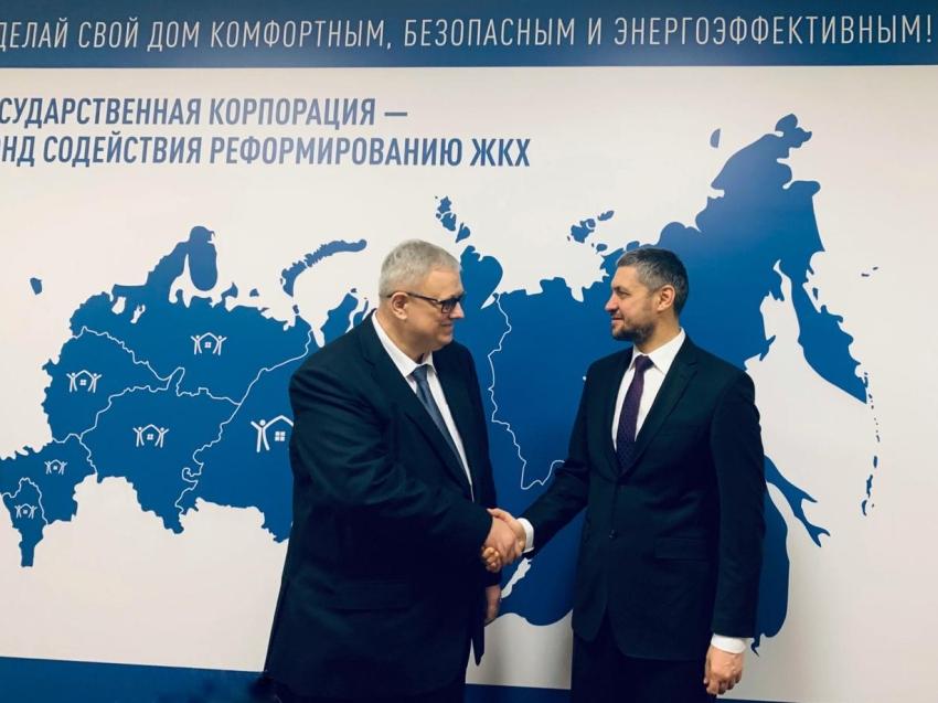 Александр Осипов обсудил вопросы жилищного строительства и сферы ЖКХ в Москве