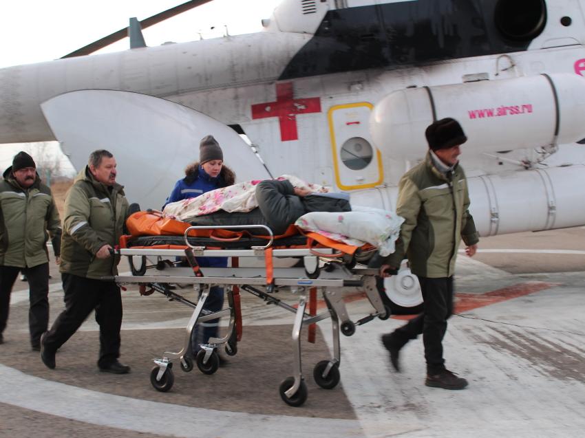 Четверых пострадавших в ДТП в Сретенском районе готовят к эвакуации в Читу