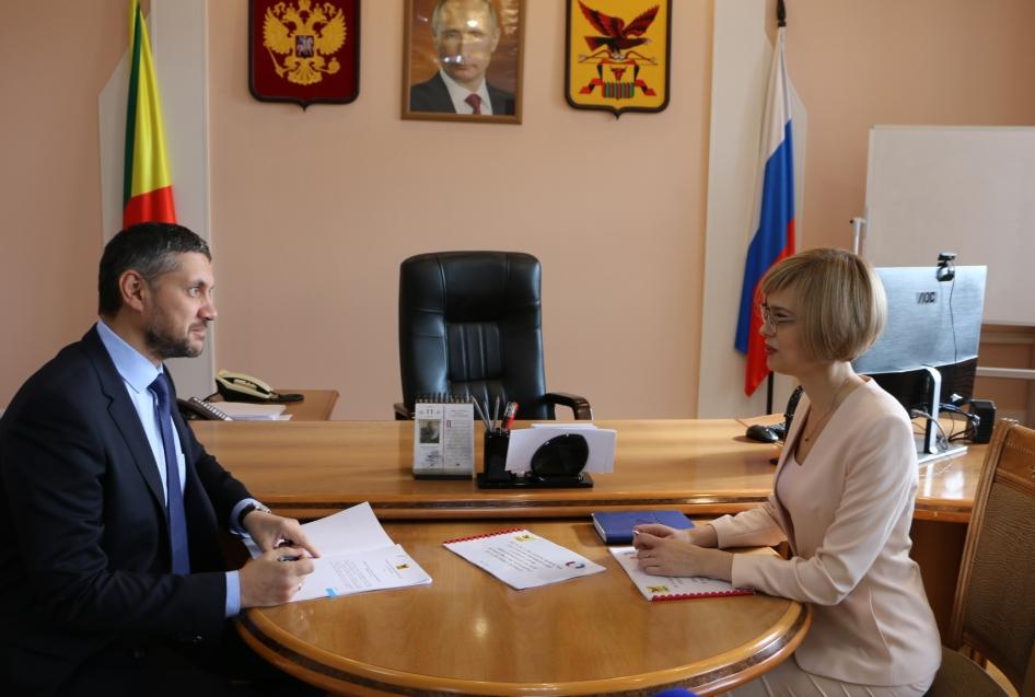 Александр Осипов назначил Викторию Бессонову омбудсменом по защите прав предпринимателей на второй срок