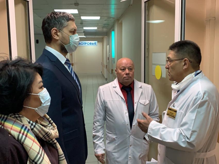 Первая городская больница полностью готова на случай выявления больных с коронавирусом