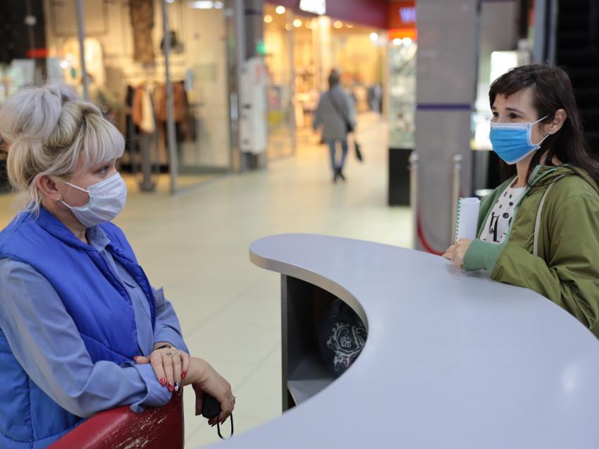 В Забайкалье ввели новый режим посещения торговых центров