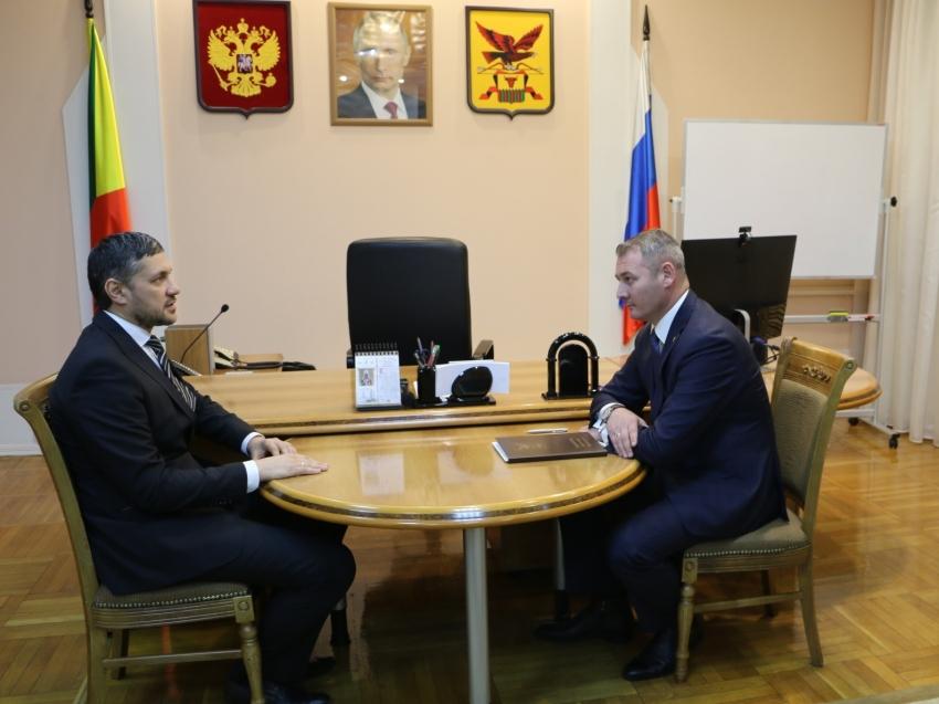 Александр Осипов и Александр Сапожников  обсудили первоочередные задачи по развитию столицы Забайкальского края