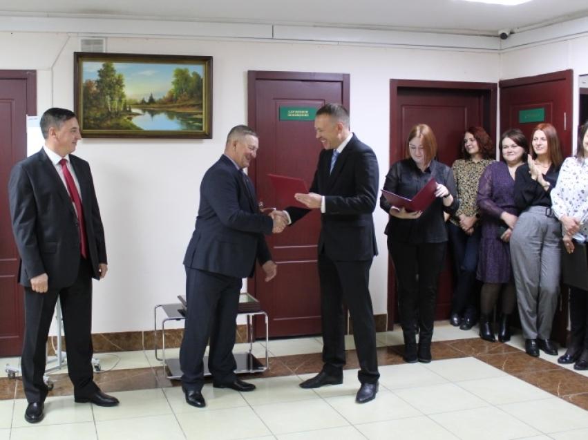 Руководитель департамента поздравил с 23–летием со дня образования Управления Судебного департамента в Забайкальском крае