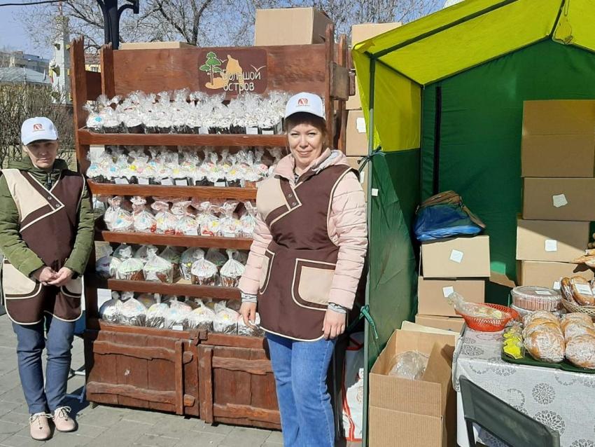 Читинцы приобрели куличи, мясо и овощи на ярмарке 1 мая