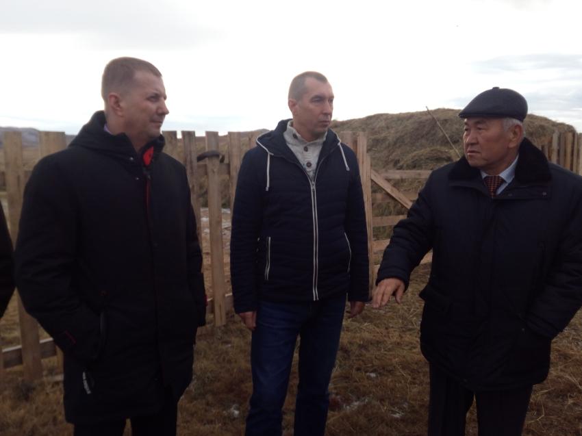 Денис Бочкарев совершил рабочую поездку по Агинскому и Дульдургинскому районам