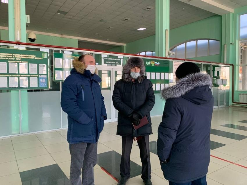 В Забайкальске ведется реконструкция МАПП