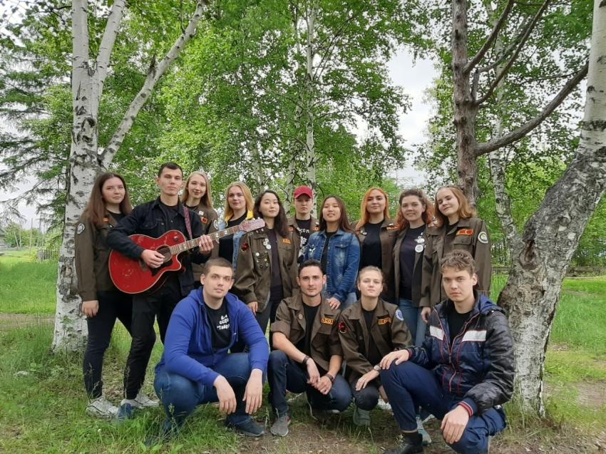 Студенческий отряд из Забайкалья стал победителем окружного трудового проекта