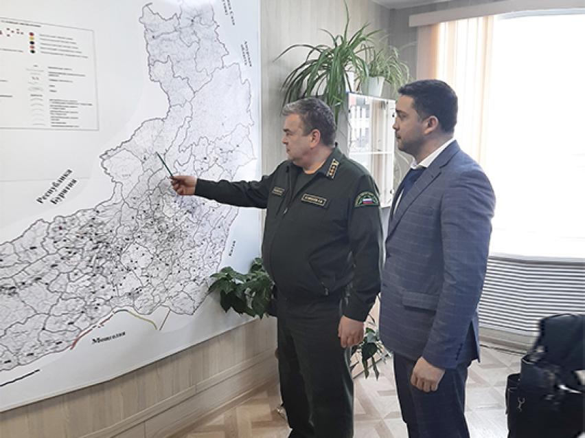 Замруководителя Рослесхоза оценит готовность Забайкалья  к пожароопасному периоду