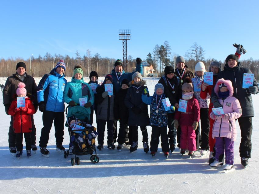 Порядка 200 человек стали участниками Всероссийского Дня снега в Чите