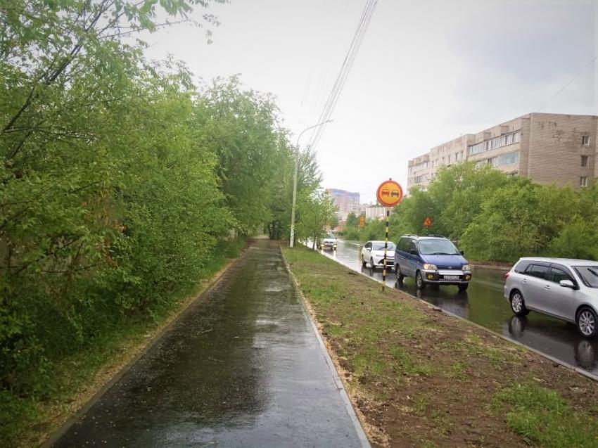 В рамках проекта «Улица Победы» в Чите завершены основные ремонтные работы на улице Подгорбунского