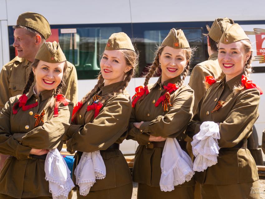 Музей под открытым небом откроется на площади Ленина 9 мая