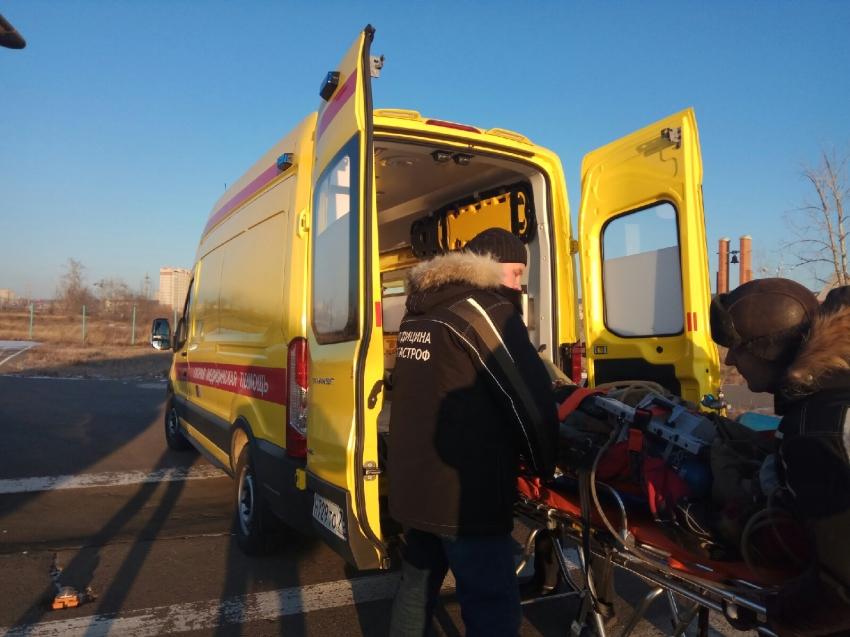 Еще одну пострадавшую в аварии в Сретенском районе доставили вертолетом санавиации в Читу