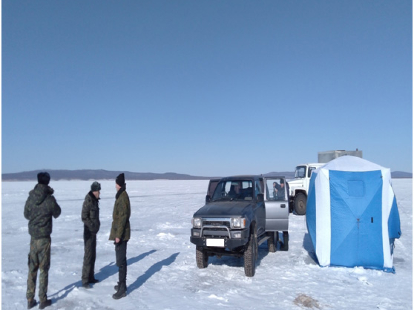 Семь нарушителей задержали на территории природного парка «Ивано-Арахлейский»