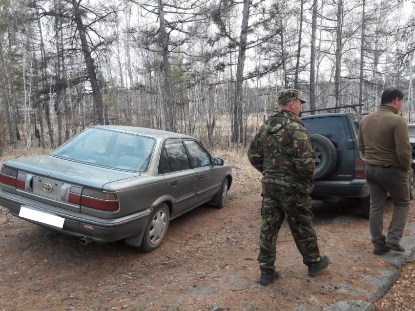 Шесть нарушителей запрета выезда в лес пойманы в заказнике «Семеновский»