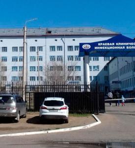 Пациенты с COVID-19 и другими диагнозами разделены в инфекционной больнице Читы с соблюдением мер безопасности