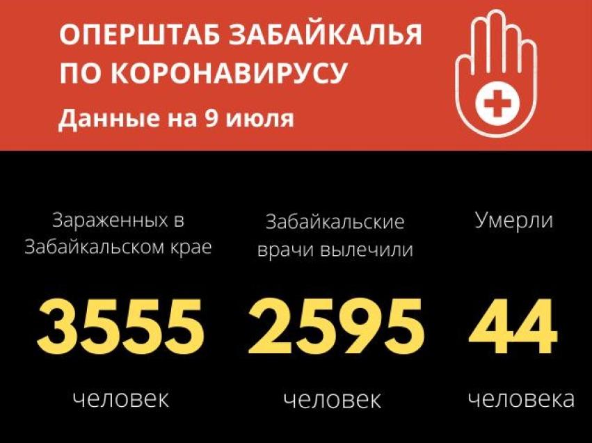 В Забайкалье 2595 человек победили коронавирус