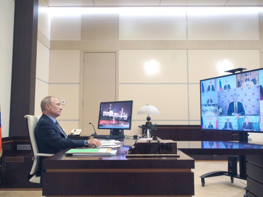 Владимир Путин обсудит с правительством предложение Губернатора Забайкалья о дополнительной поддержке бизнеса