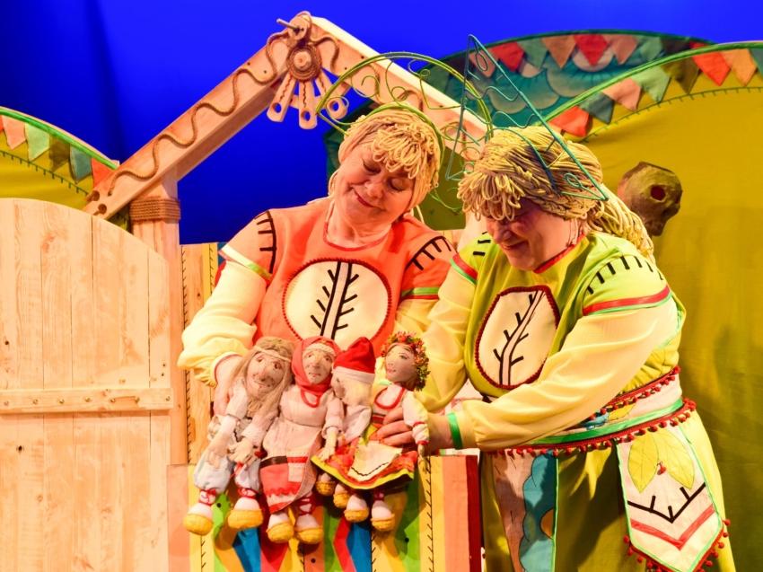 Государственный театр кукол откроет новый сезон премьерой «Гуси-лебеди»