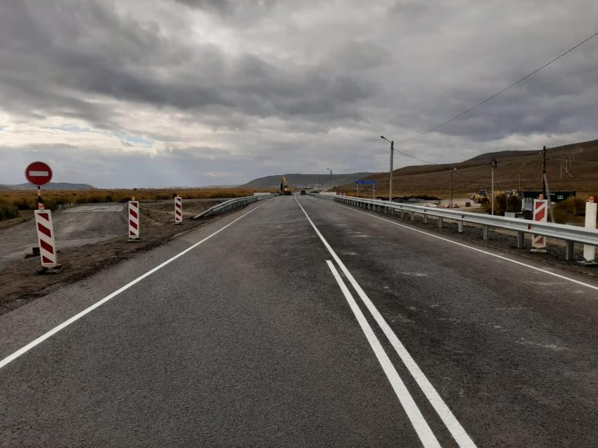 В Агинском районе Забайкалья изменили схему проезда по мосту через реку Жипкоша