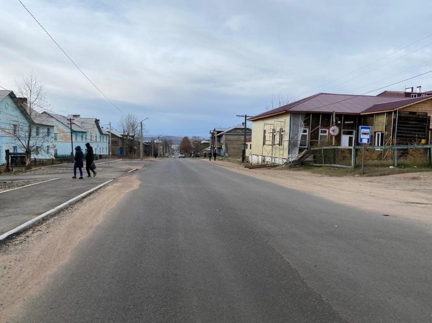 Центральную улицу в забайкальском городе Хилок отремонтировали благодаря дальневосточной субсидии
