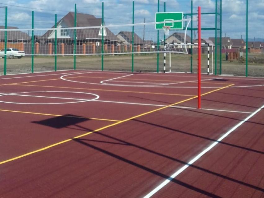 Минспорт: В поселках Копунь и Верхний Цасучей завершено строительство спортивных площадок