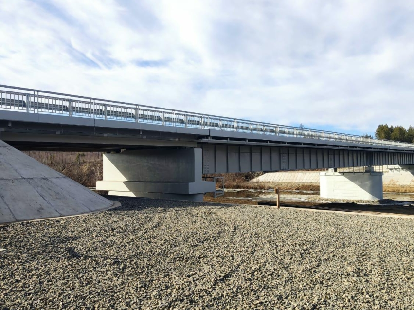 Мост на федеральной трассе в Забайкалье капитально отремонтировали впервые за 48 лет