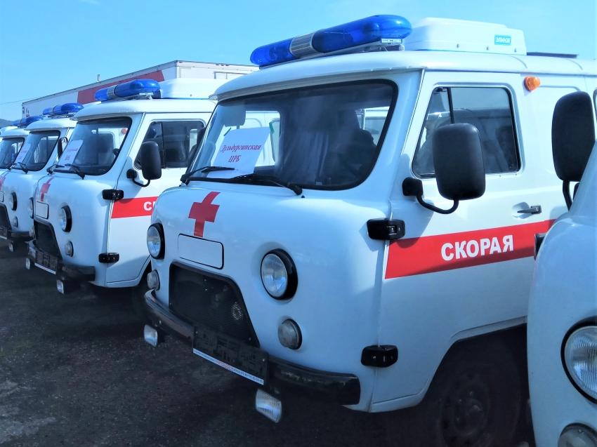Большинство машин скорой помощи по распоряжению правительства РФ направлены в районы Забайкалья