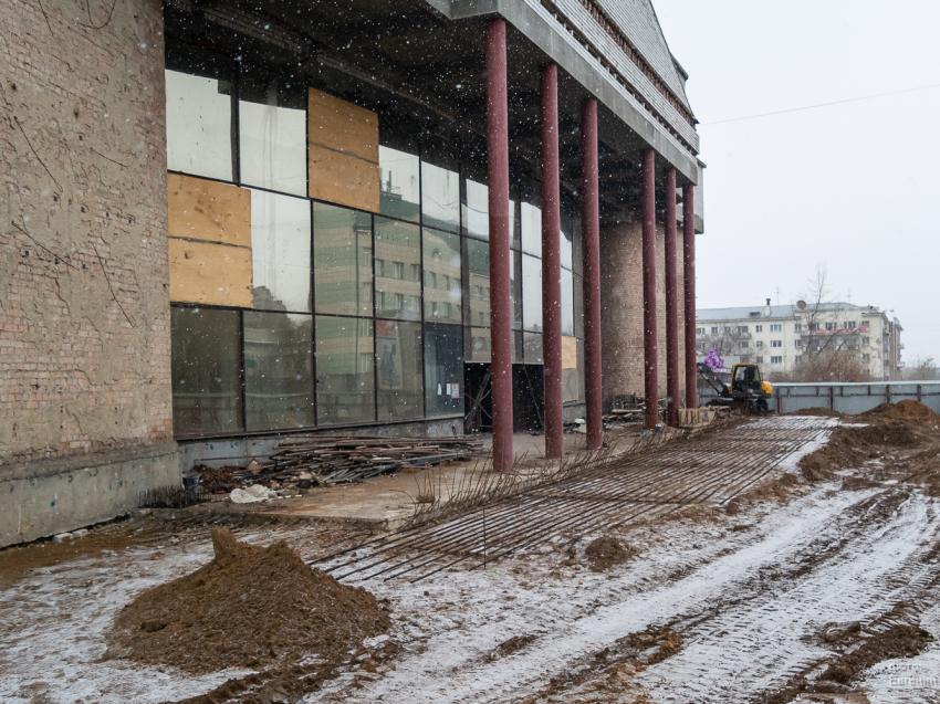 Забайкалью выделили  348 миллионов рублей на завершение реконструкции драмтеатра в 2021 году
