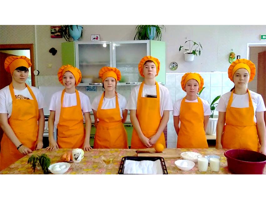 Воспитанники Читинского детского центра приготовили оригинальное блюдо для участия во Всероссийском конкурсе