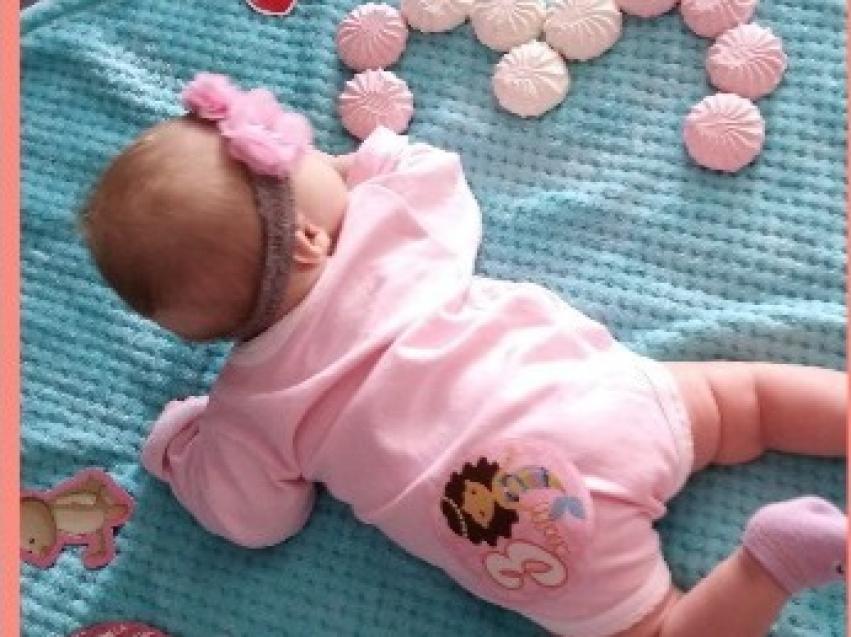 Новорожденную в Красночикойском районе назвали «солнечным» именем