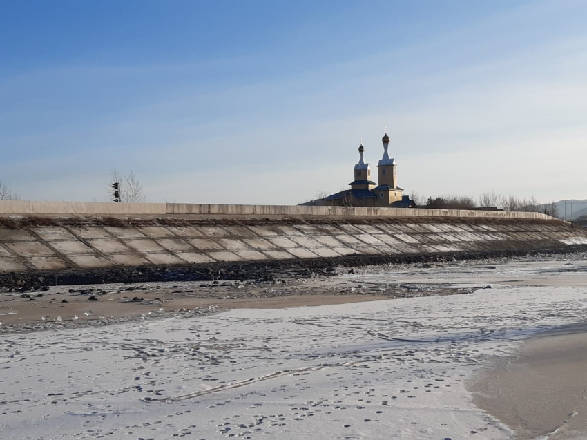 Завершены работы по ремонту дамбы на левом берегу Читинки