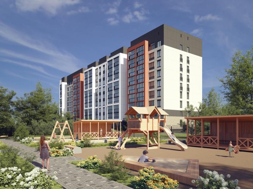 Новый детский сад начали строить в районе озера Кенон