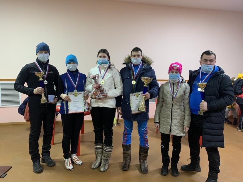 Определены победители семейной лыжной гонки в Забайкалье
