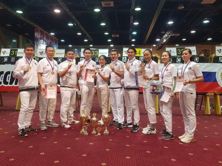 Золотые, серебряные и бронзовые медали завоевали лучники региона на Чемпионате России в Орле