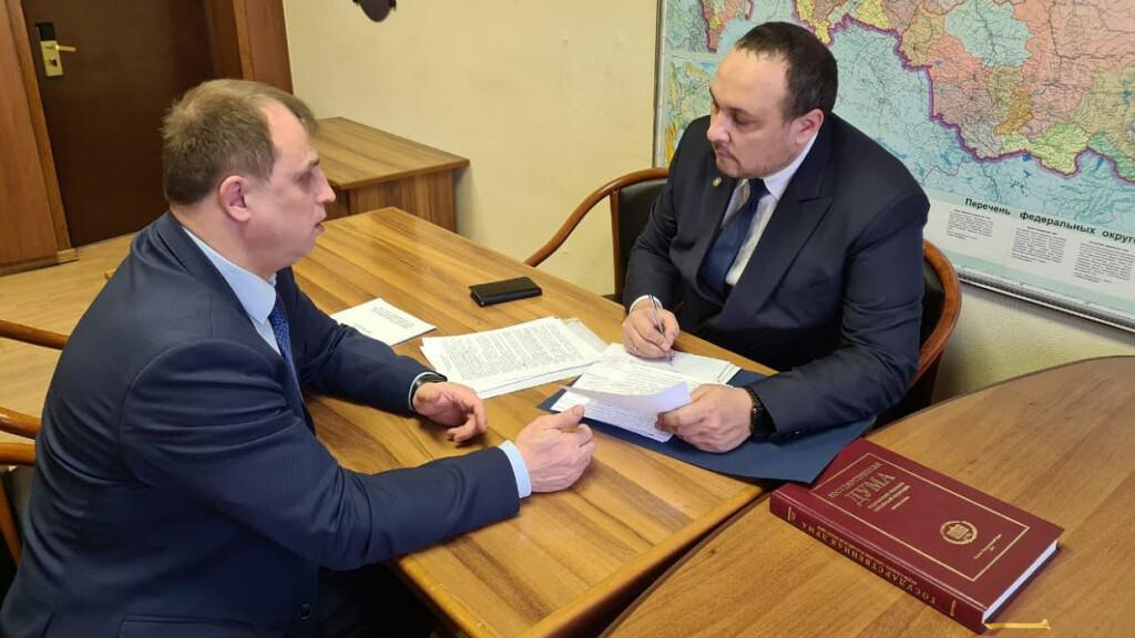 Депутат Вострецов поможет Балею получить звание «Город трудовой доблести»
