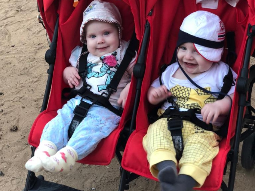 В Могойтуйском районе первых двойняшек года назвали Лиа и Миа