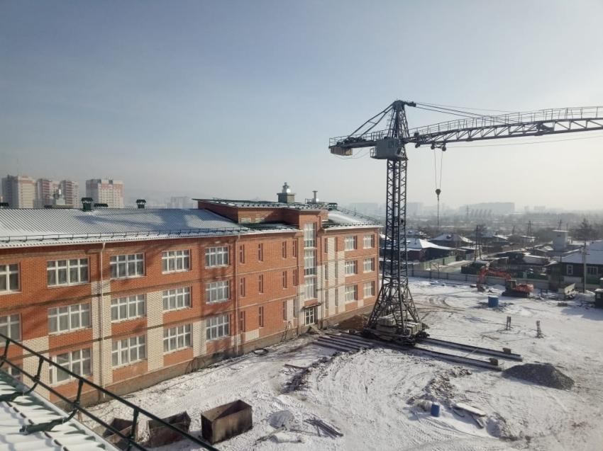 Госинспекция Забайкалья: В самой большой школе края на этапе строительства нарушений не выявлено