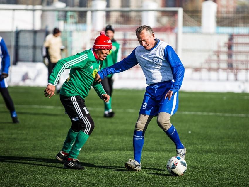 Соревнования среди ветеранов по футболу пройдут в Чите 23 февраля