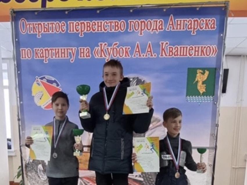 Юные картингисты Забайкалья успешно выступили в Ангарске