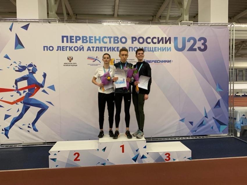 Бронзу завоевал легкоатлет из Забайкалья в Кирове