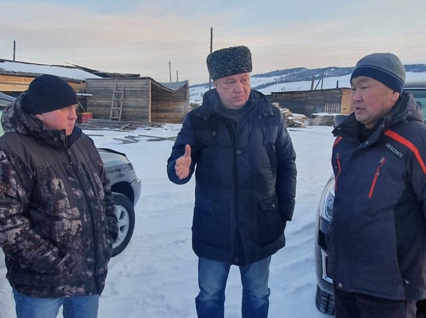 Сергей Немков: Сегодня мы проверяем пункты отгрузки древесины в Петровск-Забайкальском районе