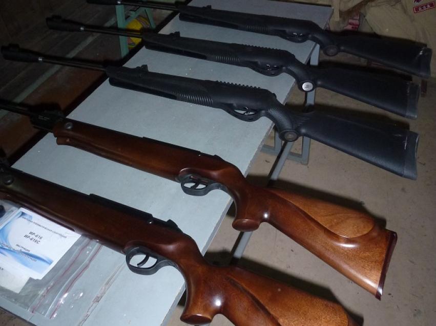 Минспорт передал новые пневматические винтовки региональному отделению ДОСААФ России