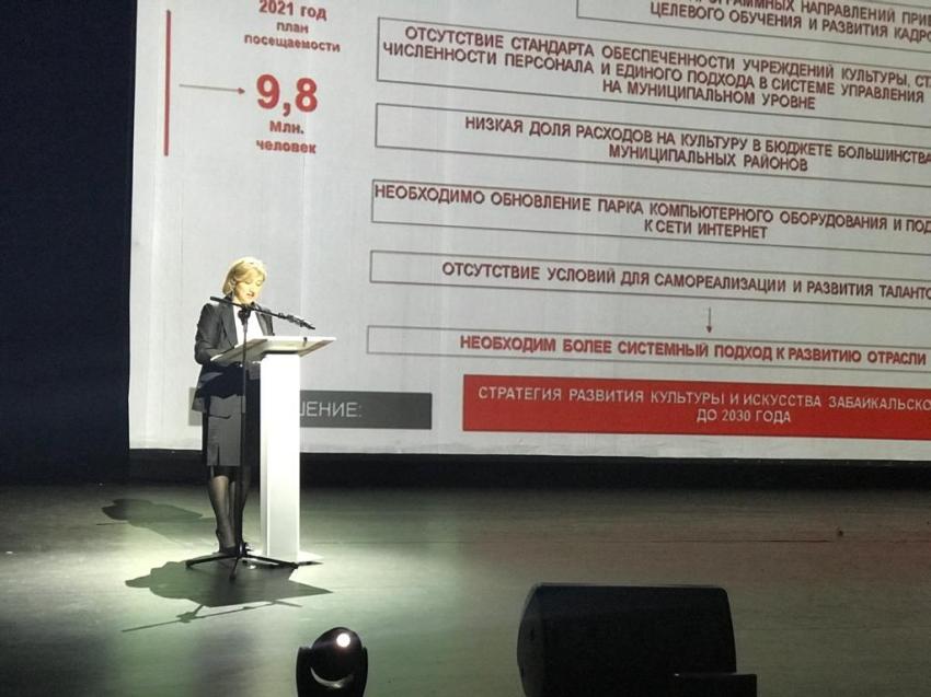Ирина Левкович назвала формулу развития культуры Забайкалья