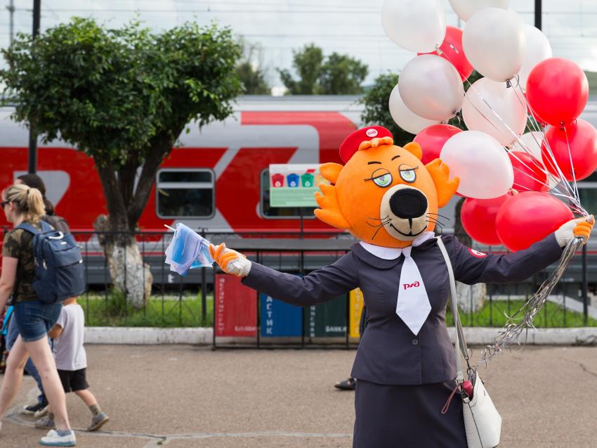 Забайкальцы смогут путешествовать на поездах в свой День рождения со скидкой 10%