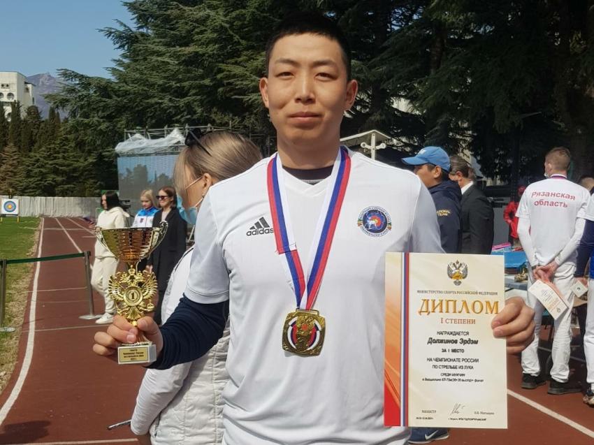 Забайкальские лучники завоевали золото, серебро и бронзу чемпионата России